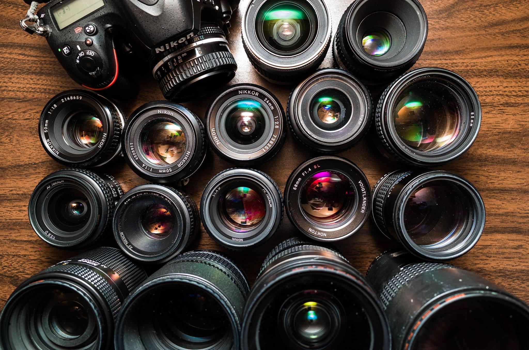 A shitton of lenses...