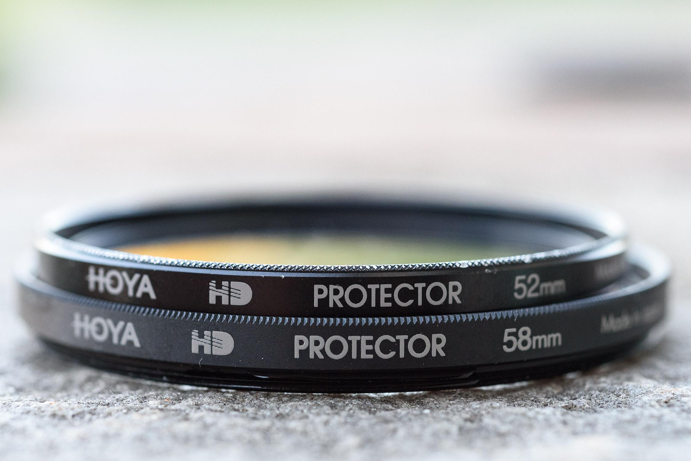 Top: Real Hoya HD. Bottom: HKdirect Counterfeit Hoya HD
