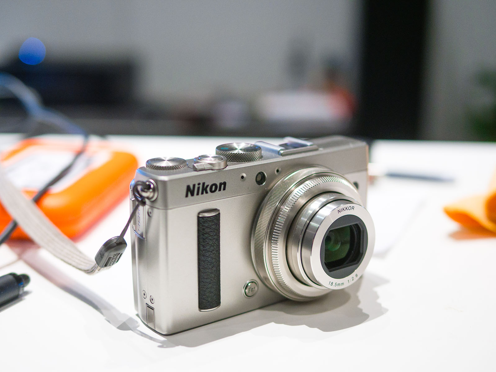 Silver Coolpix A, gorgeous bling,28mm 2.8 equiv, leaf shutter, A New Hope.