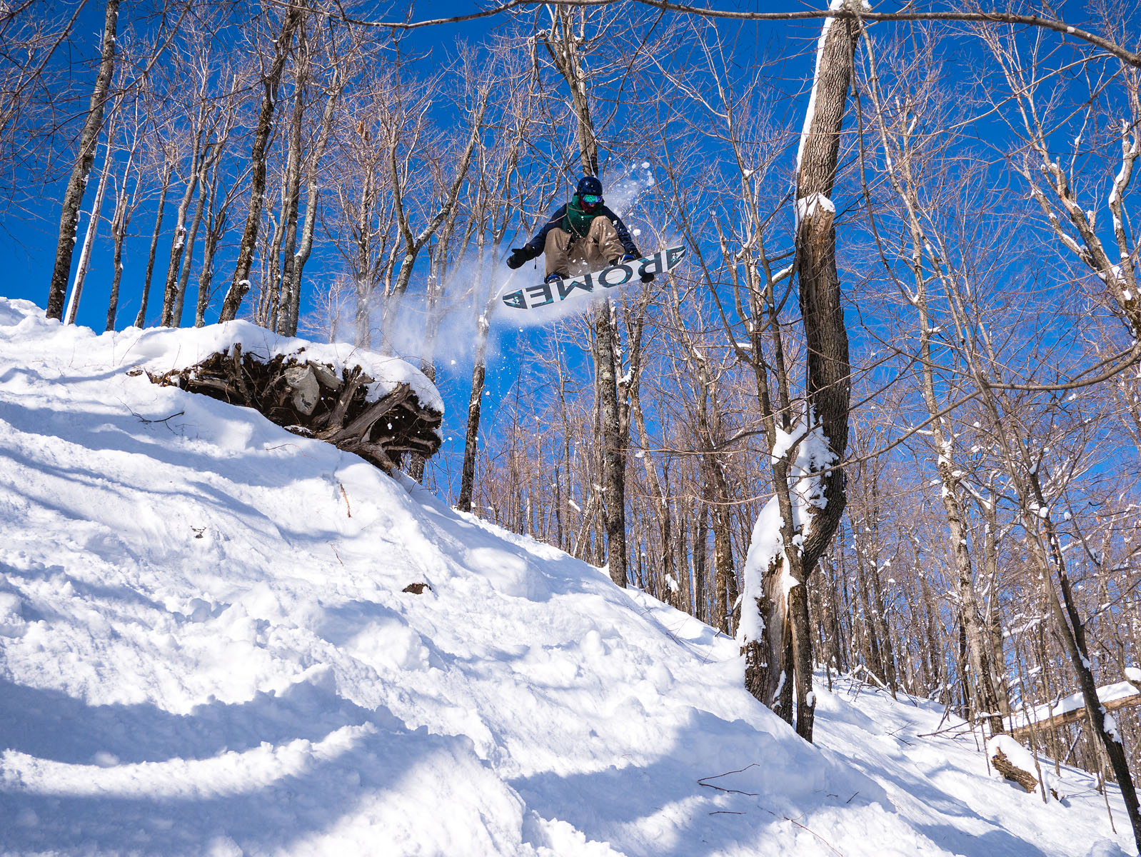 12-60 G is so darn flexible, it can catch a snowboarder jumping off.