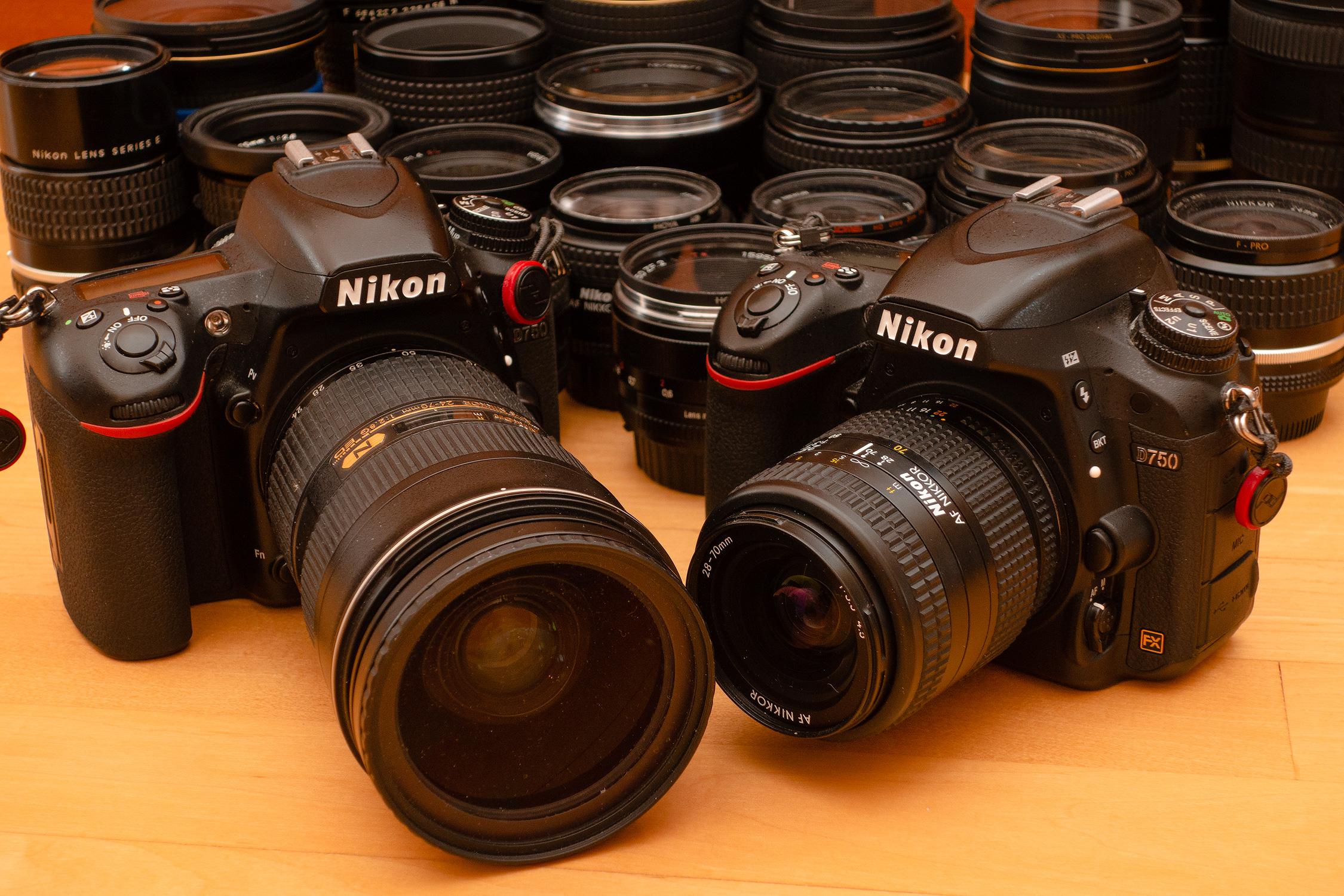 Nikkor AF-S 24-70mm f2.8G ED + Nikkor AF 28-70mm f3.5-4.5, Two amazing examples of zoom with great depth rendition.
