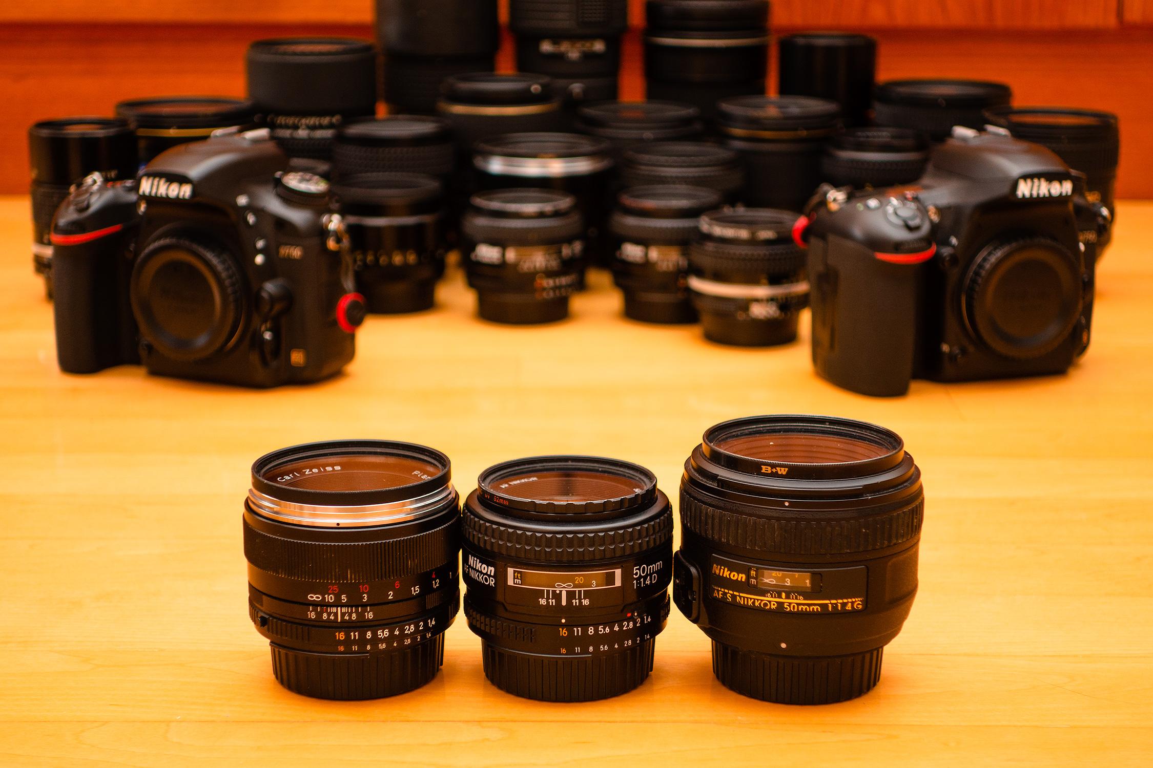 Best 50mm, Best daylight AF 50mm, Best night time AF 50mm