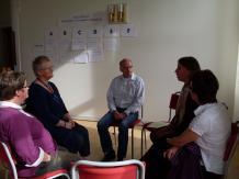 Gruppsamtal under inspirationsdagen