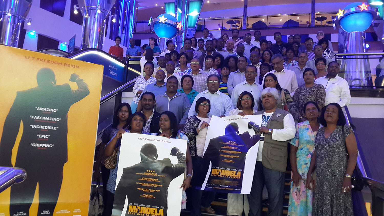 Faith groups watch Mandela: Long Walk To Freedom / Videovision Entertainment (p)