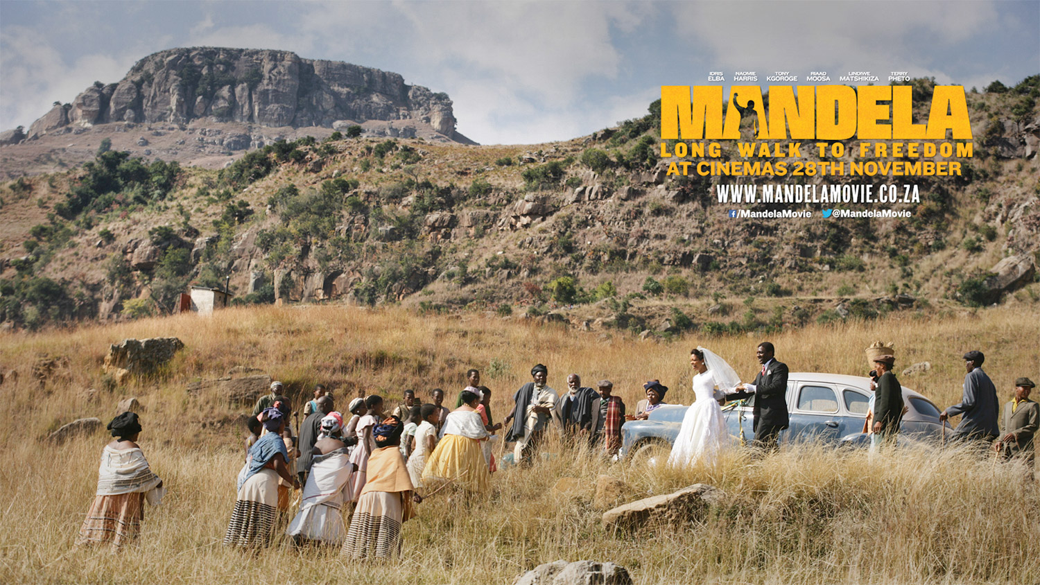 Mandela: Long Walk To Freedomreceived four nominations for the45thNAACP Image Awards / Videovision Entertainment (p)