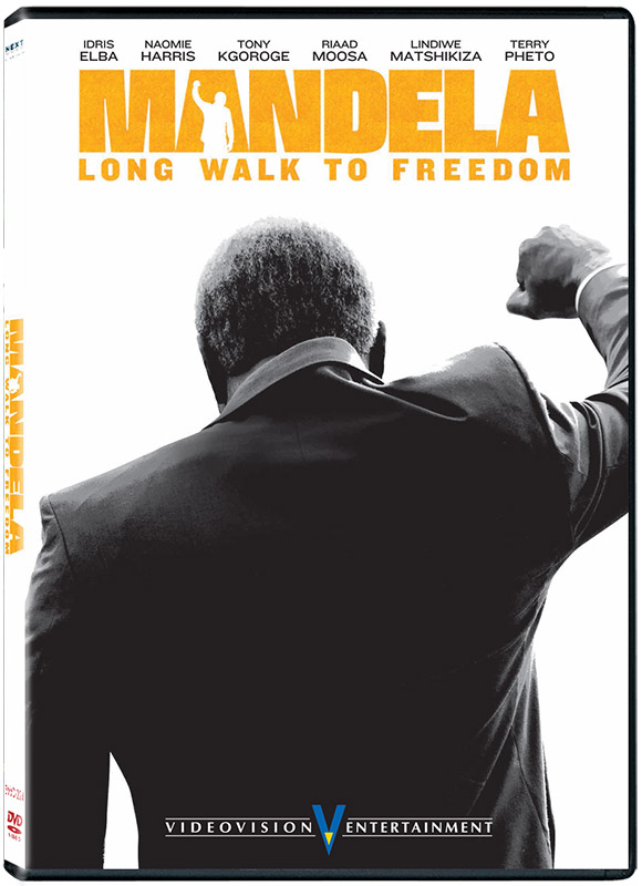 Mandela: Long Walk To Freedom DVD