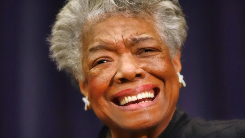 Maya Angelou /AP Photo/Gerald Herbert, File (p)
