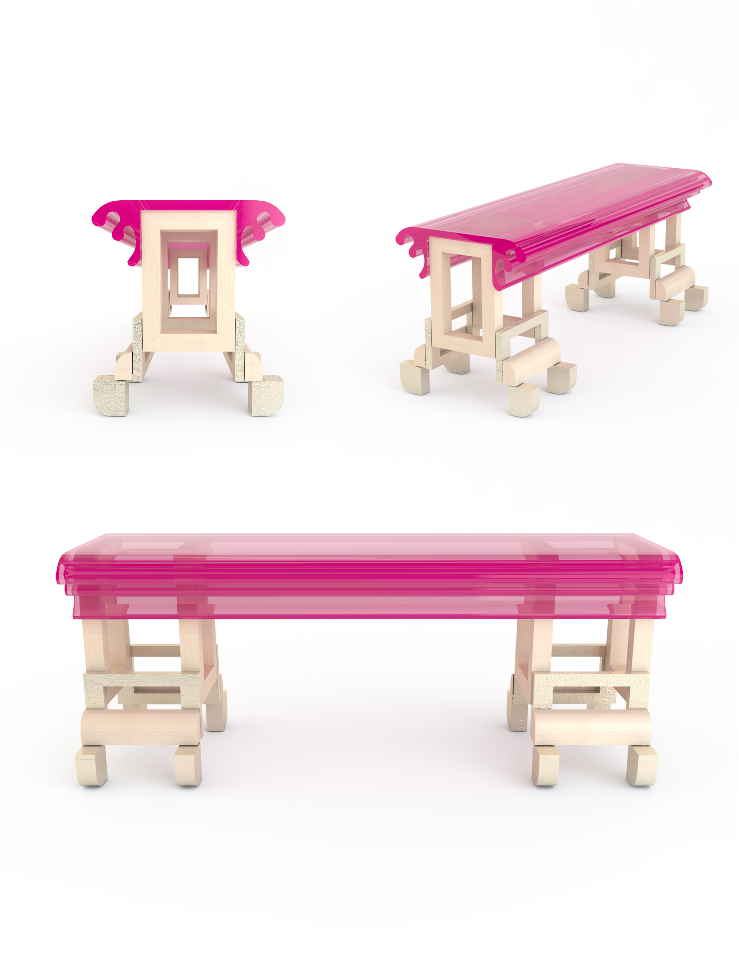 Table - 13 Bubblegum Bench or table.jpg