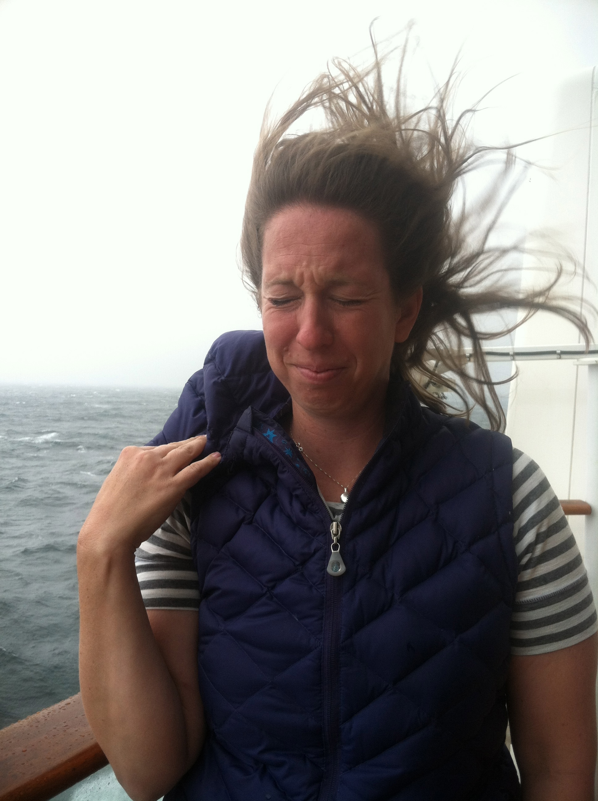 Rough day at sea