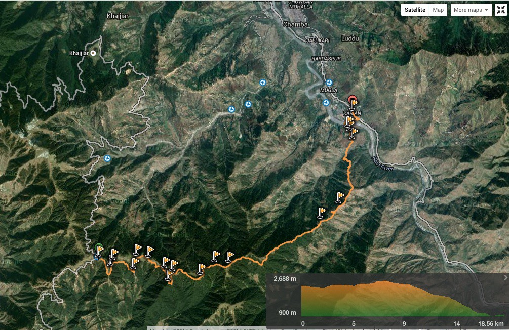 route map - Chowari Jot to Chamba.jpg (view on  wikiloc  /  google maps )
