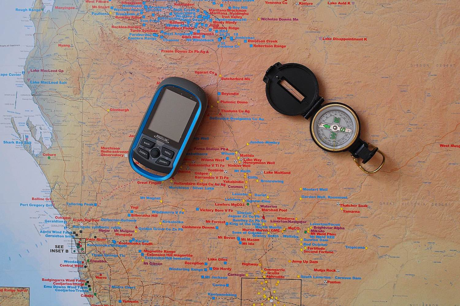 Digital and analog orienteering gear  give you a better chance of finding the correct route.