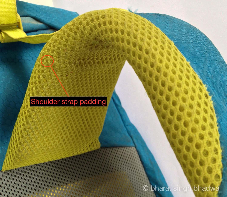 Shoulder strap padding