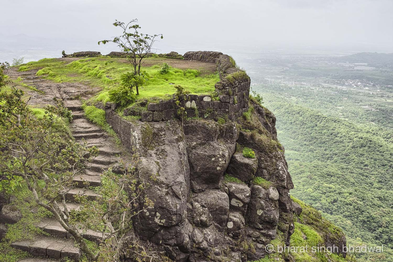 Karnala fort bastion
