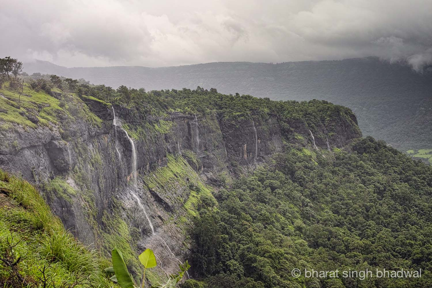 Peth plateau during monsoons