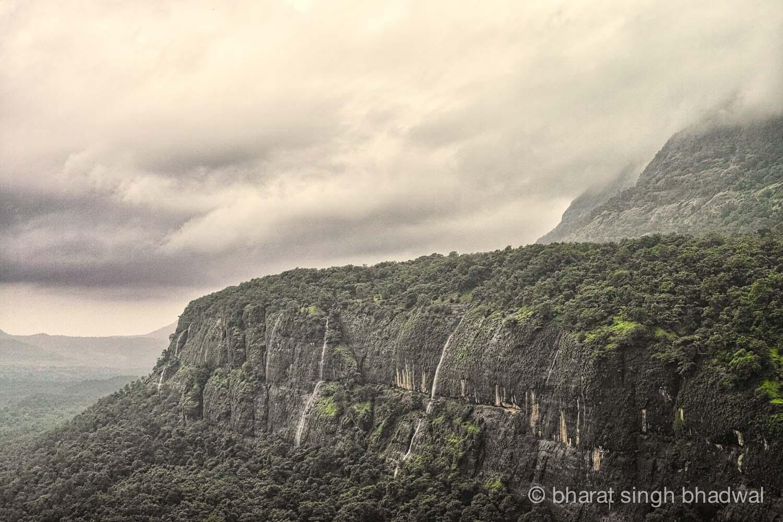 The magnificent Bhimashankar's walls