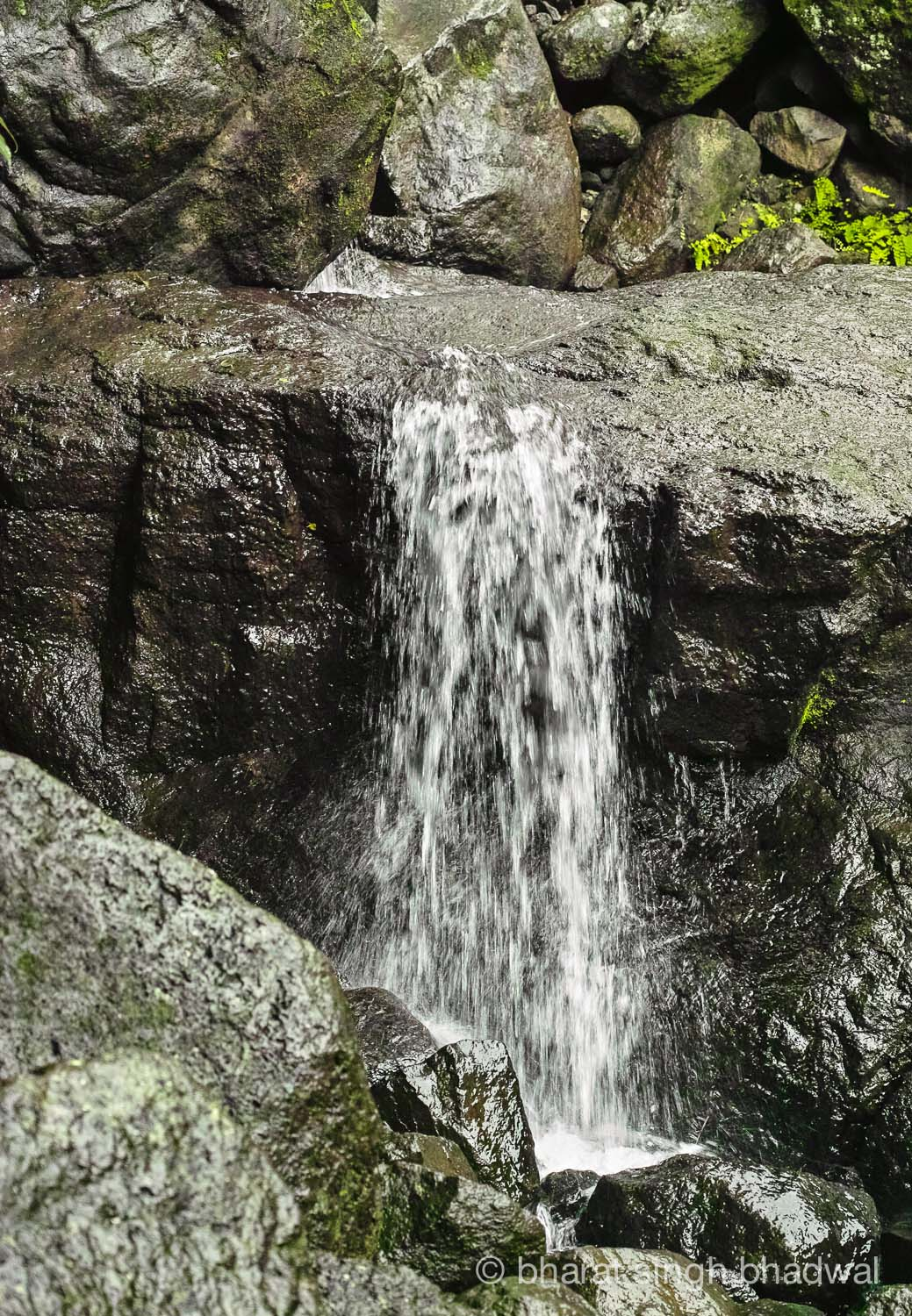 Waterfalls dot the Ganesh Ghat route