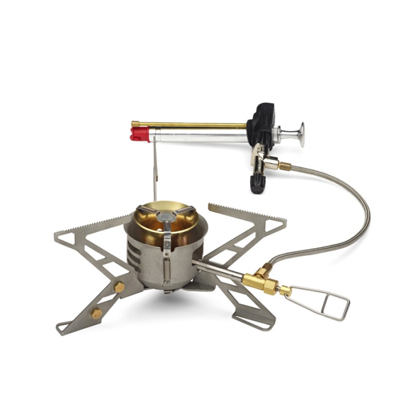Liquid Fuel Stove with mechanical pump. Image courtesy primus.eu