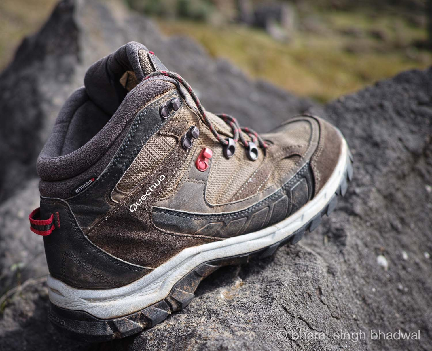 Quechua Forclaz 500 Wenge now renamed to Forclaz 100 High