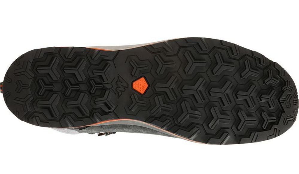 New tread design on the recently updated Forclaz 500 high