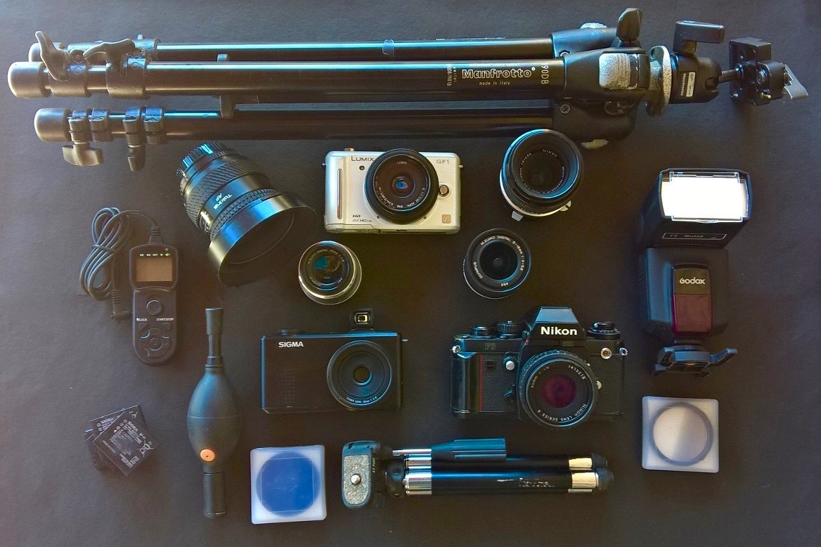 Photo Gear at inditramp HQ