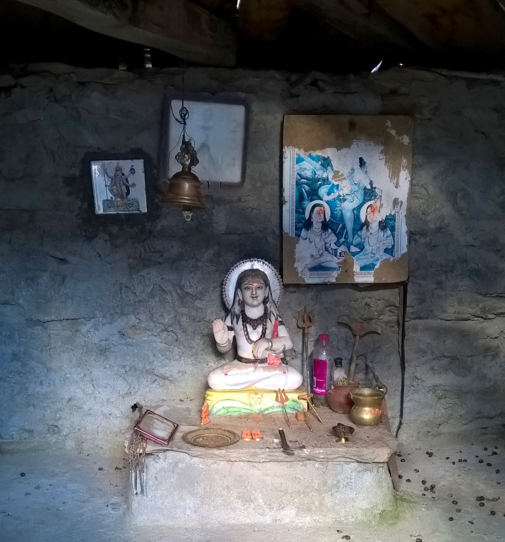 Temple at Bajoda