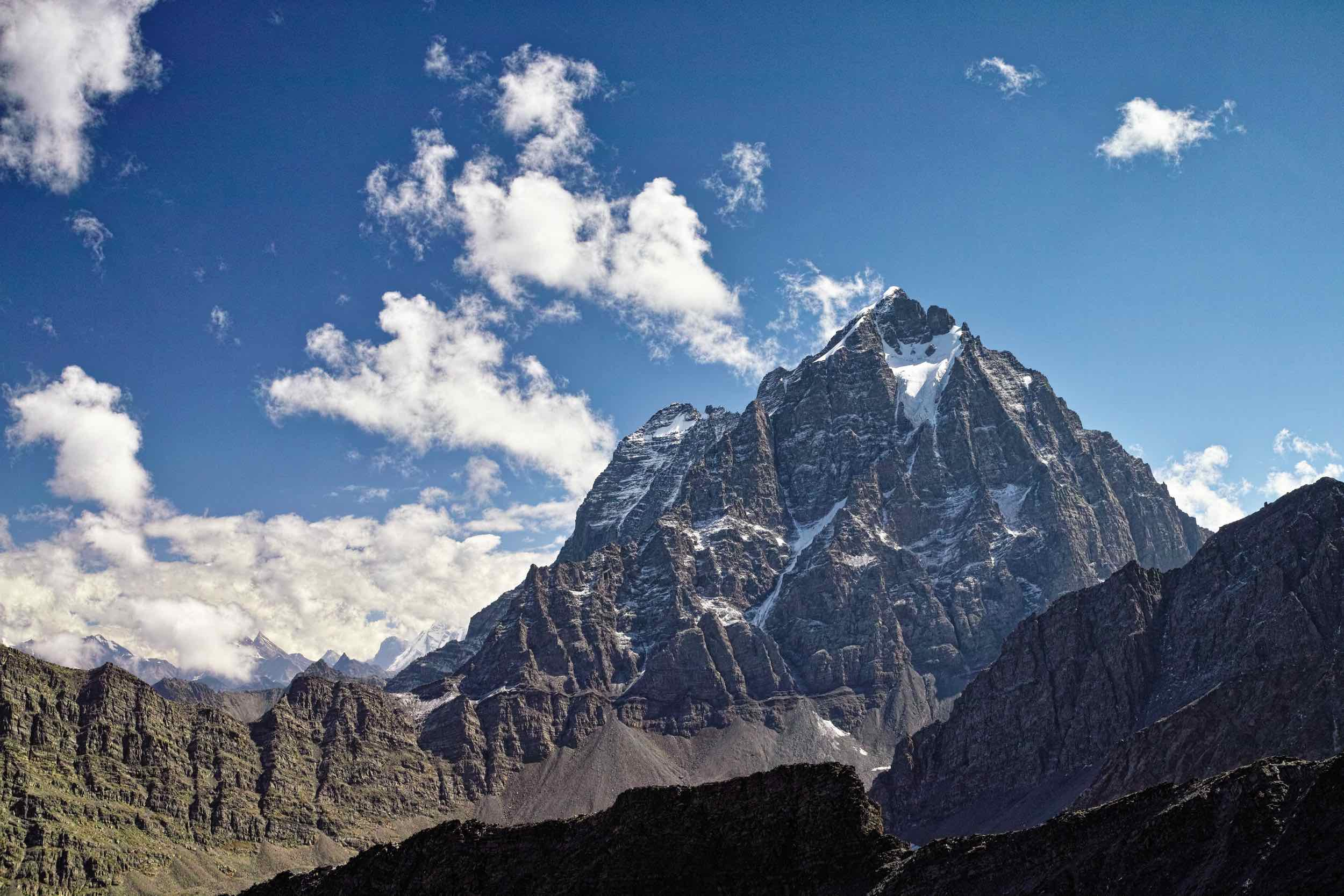 Chamba Kailash from Kalah pass