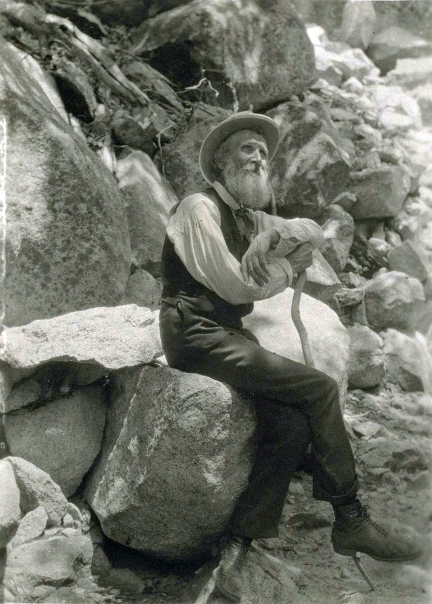 John Muir Cane an American conservationist.By Francis M. Fritz [Public domain], via Wikimedia Commons