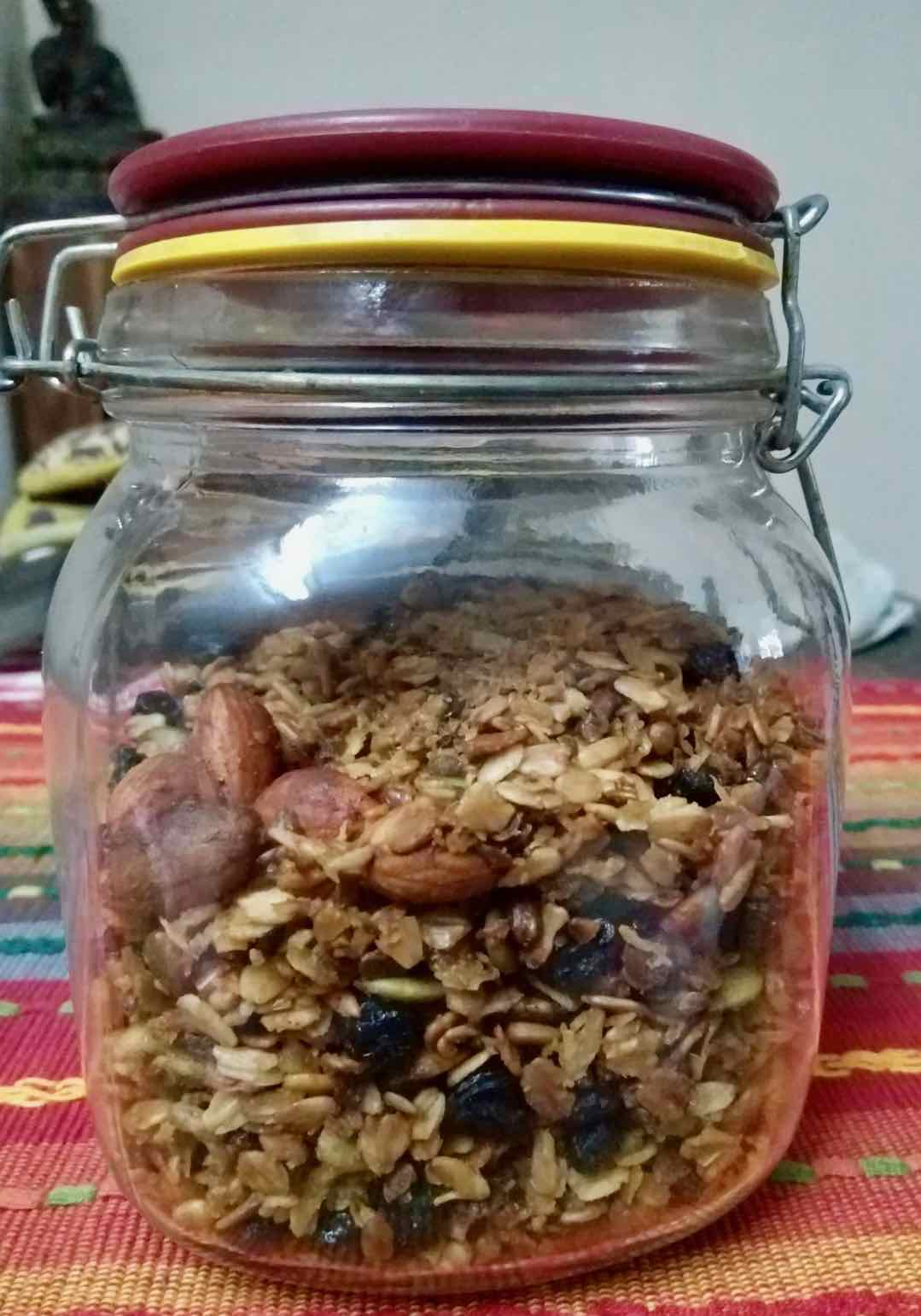 Finished Granola mix