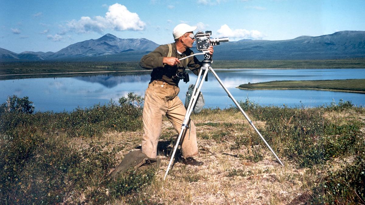 Dick Proenneke Photo NPS, courtesy Raymond Proenneke