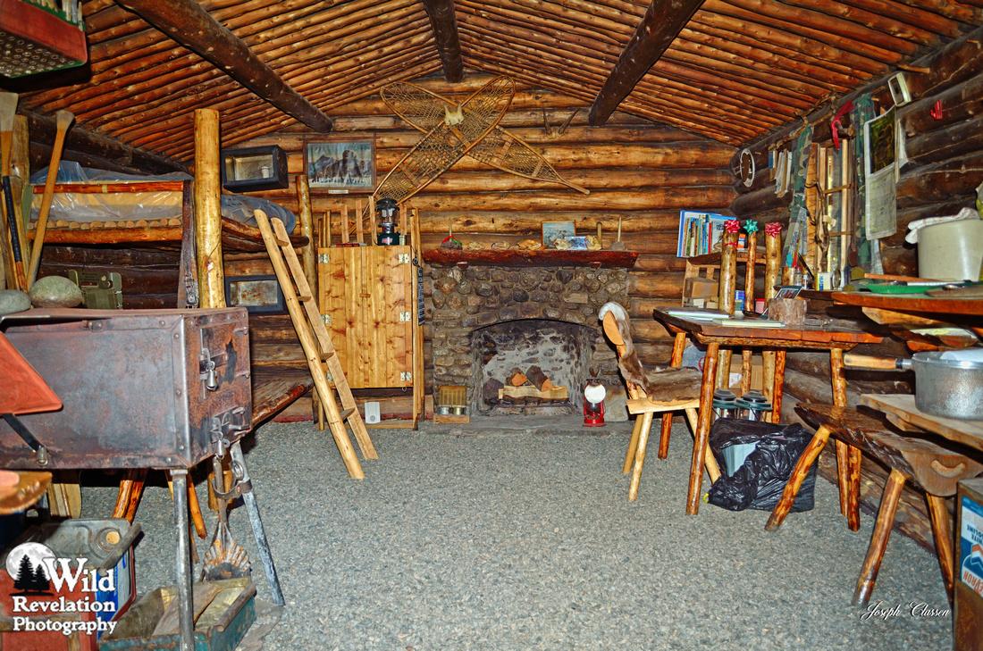 Inside the cabin. Photo (Photo courtesy Wild Revelation Photography)