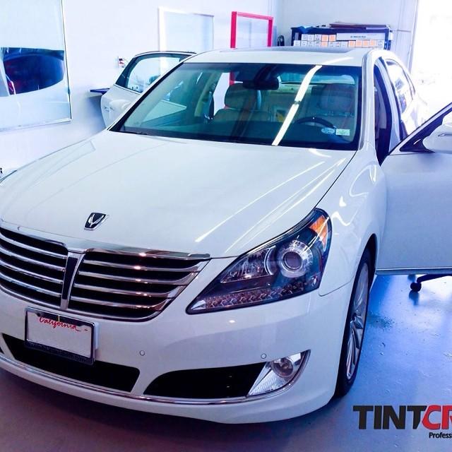 2014 Hyundai Genesis  #tint #hyundai #genesis #tintcrew #llumar #ocbuenapark