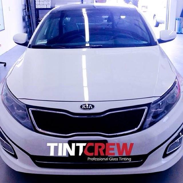 2014 Kia Optima tinted by Tintcrew  6905 Oslo Cir Ste I,  Buena Park, CA 90621  #tint #tintcrew #Kia #Optima #buenapark  #Automotive #llumar