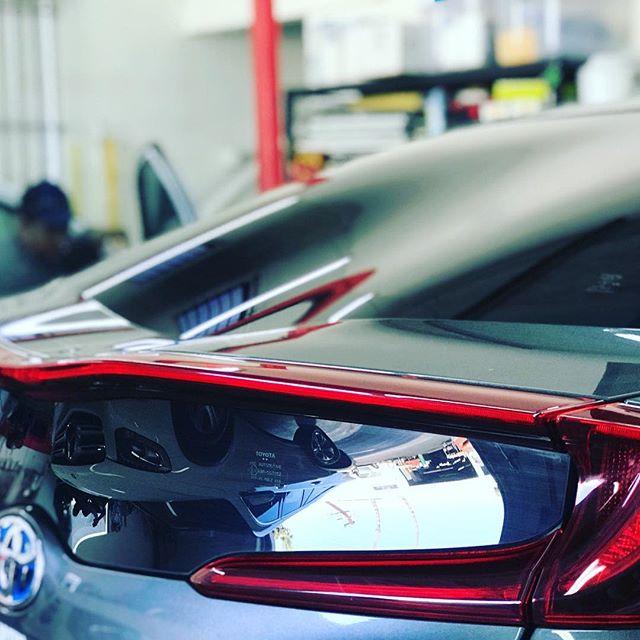 2017 Prius Prime!! Tinted with Premium Carbon! #tintcrew #2017 #hatchback #windowtint #windowtinting #tint #perfect #cars #carstagram #priusprime