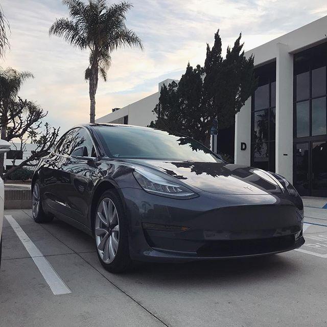 Tesla 3 Installed by LLumar CTX  #windowtint #automotive #tintcrew #teslagram  #llumar #ctx #buenapark