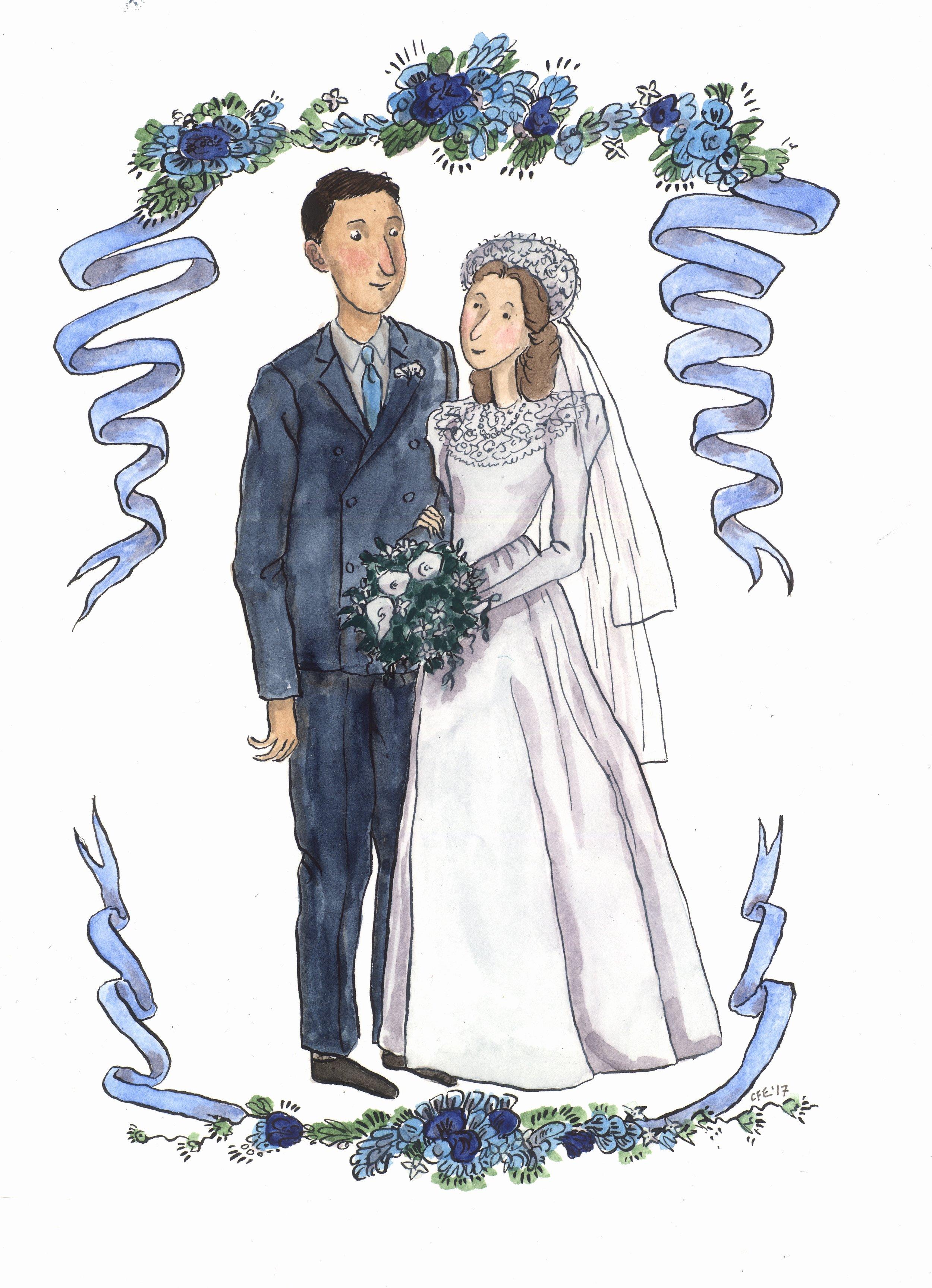A 70th Anniversary Wedding Portrait