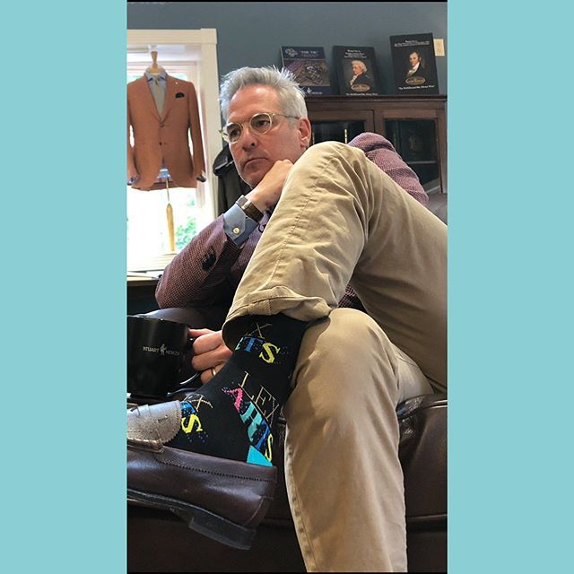 I rock the socks! The LexArts socks! The team over at LexArts work tirelessly to help our community experience the Arts locally. But they can't do it without you! The generous gifts from our community allow over 220,000 children to experience the Arts! Please consider giving to the arts in Lexington. LexArts! #rockinthesocks #ArtsEverywhere #nowherewithoutyou #LexArts