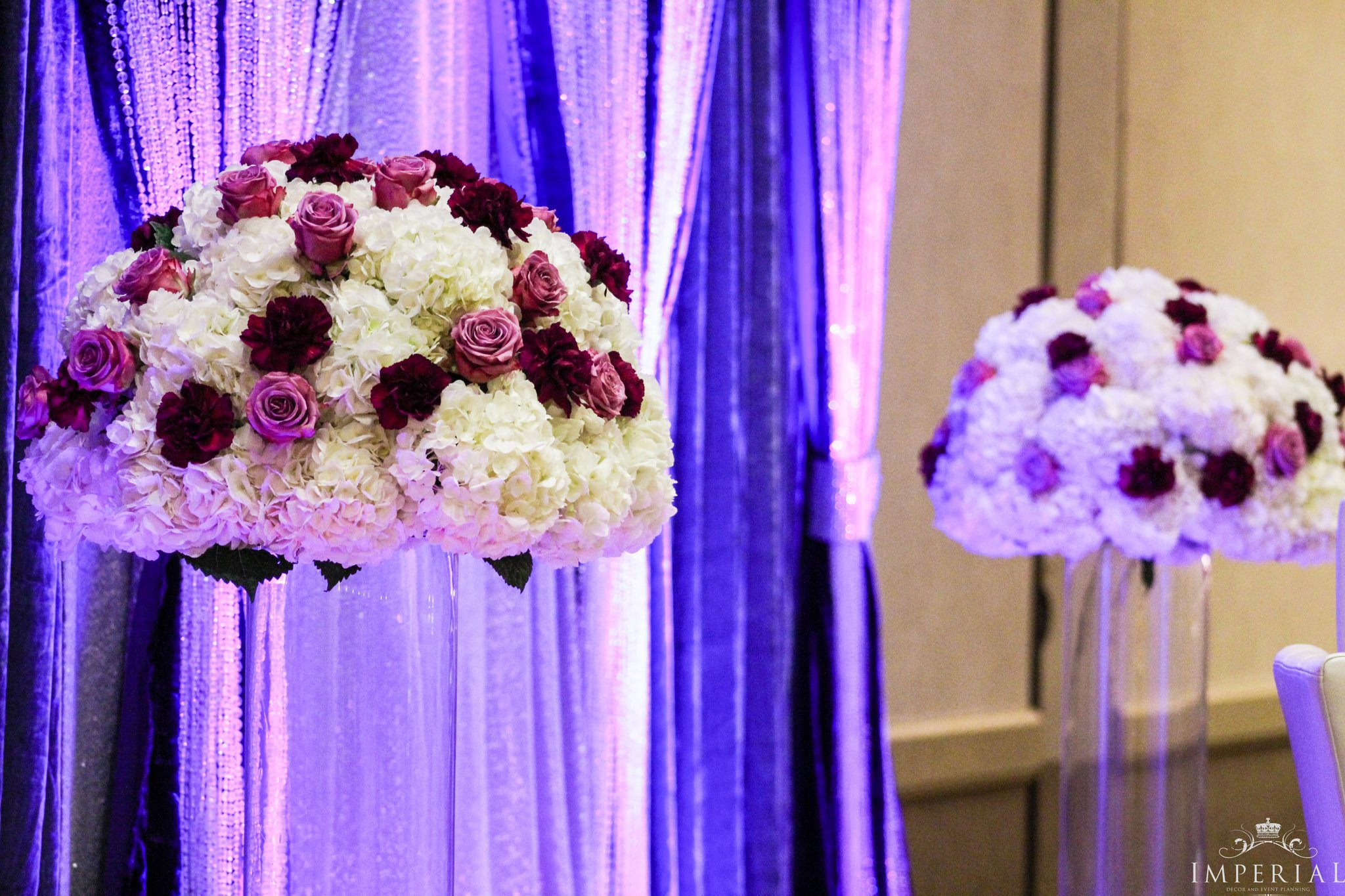 Imperial Decorations - Indian Wedding Floral Stage Decorations Washington DC.jpg