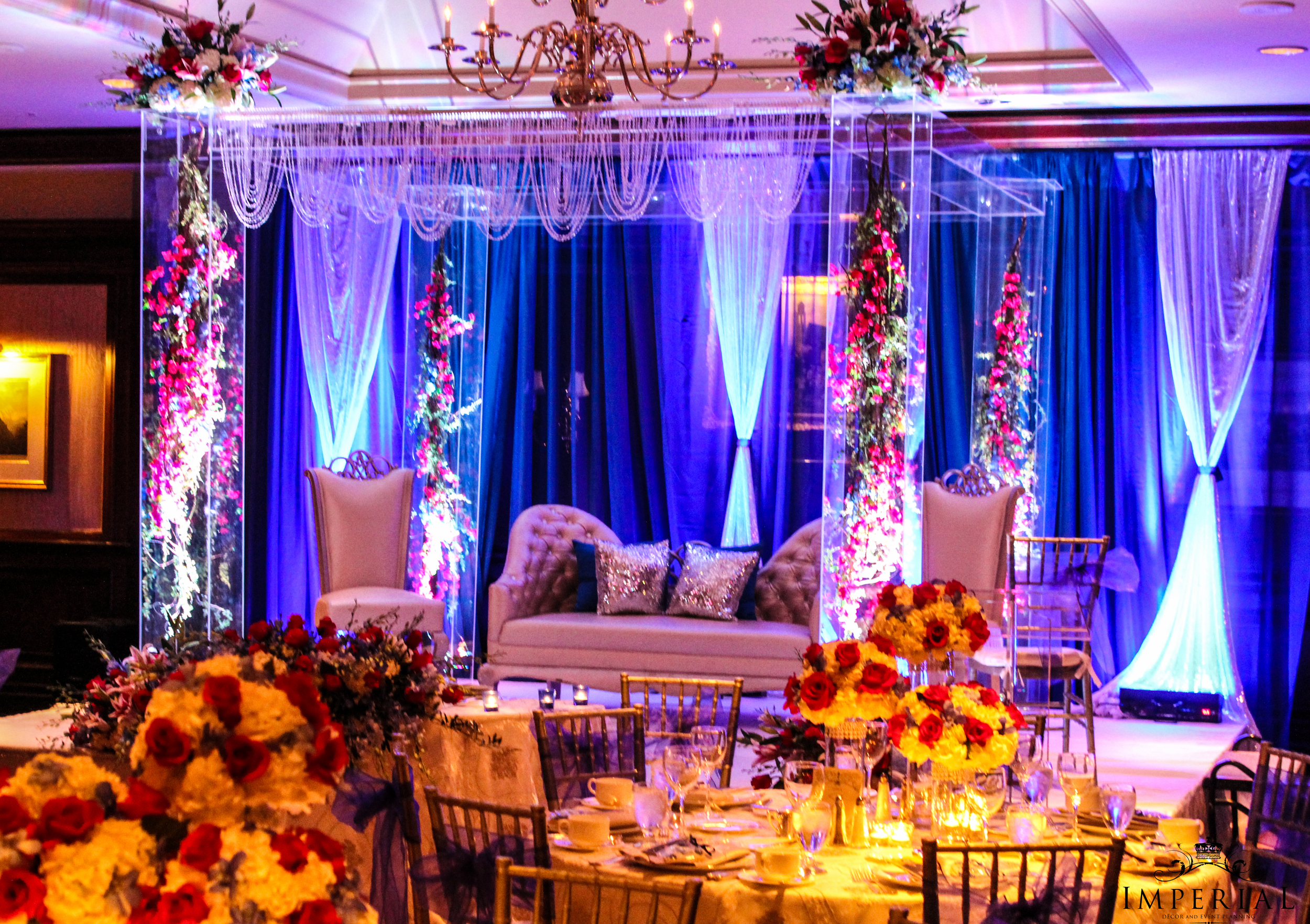 Imperial Decorations - Indian Wedding Floral Hall Stage Decorations.jpg.jpg