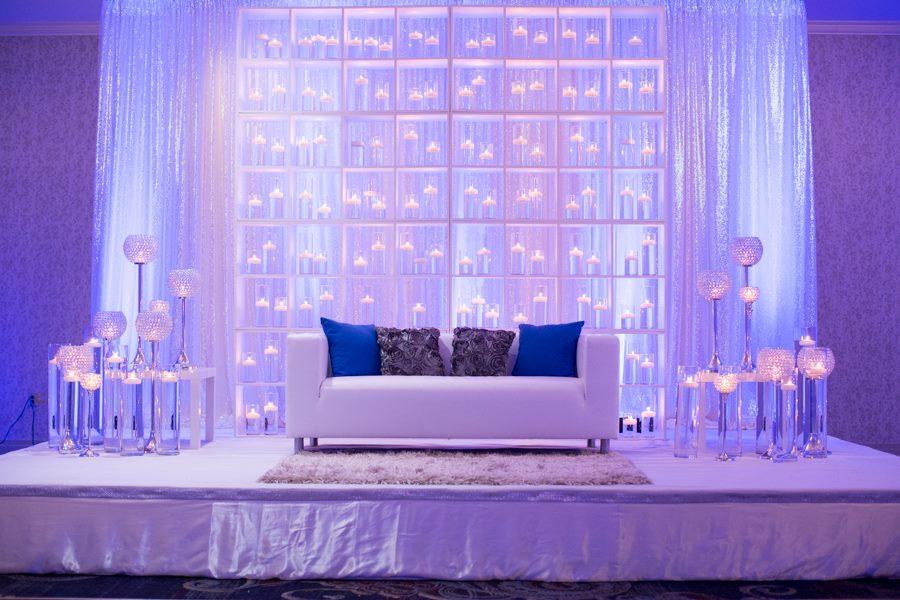 Modern White Lounge Leather Sofa