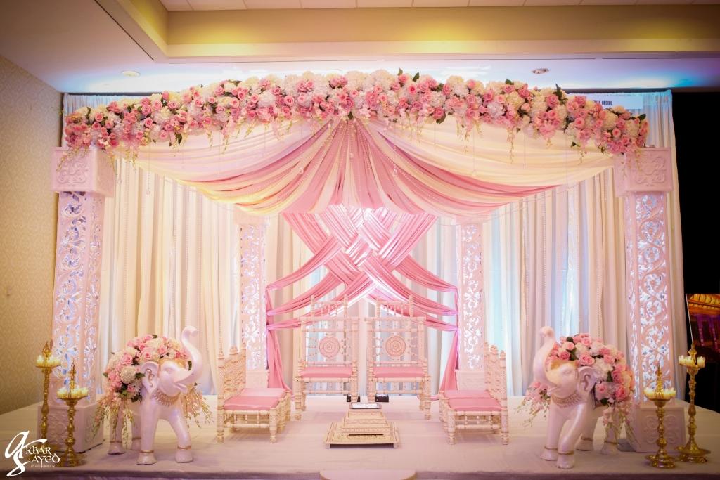 Imperial Decor - Desi Wedding Pink Stage Decor.jpg