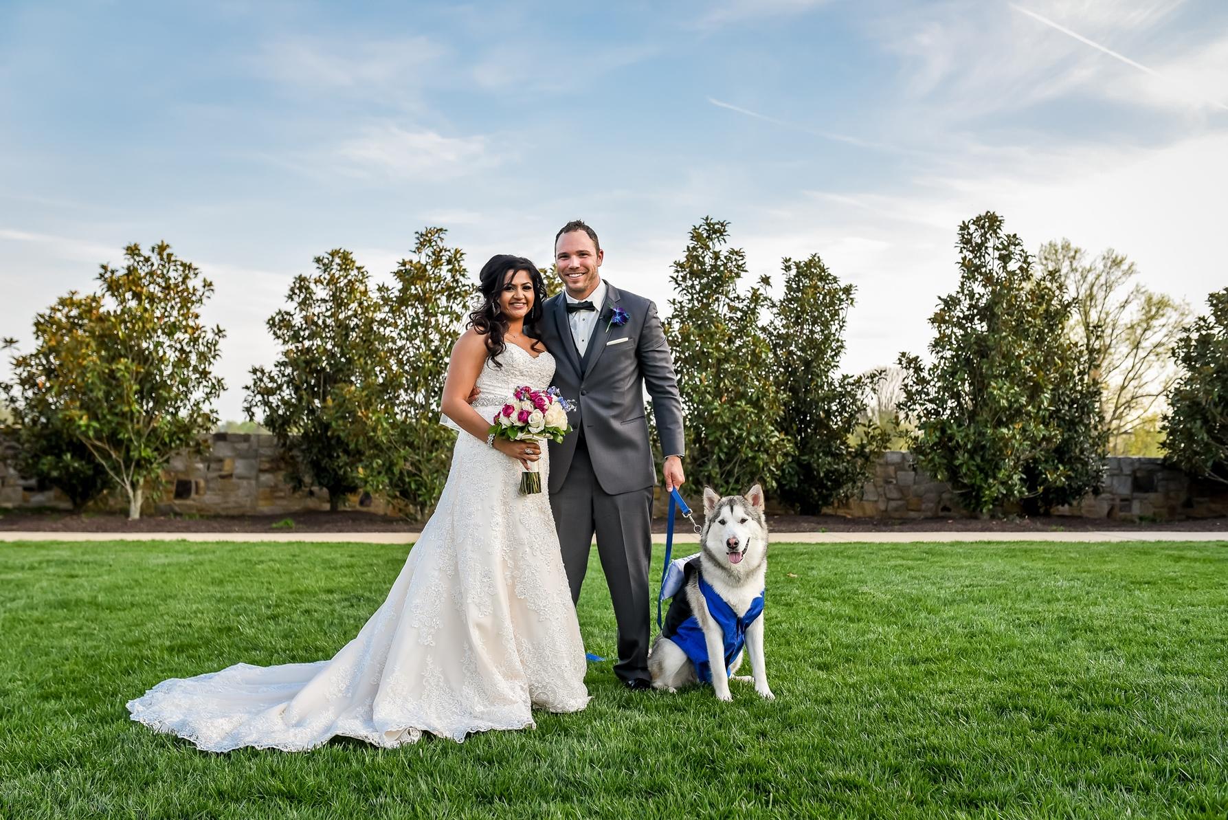 Imperial Decor - Outdoor Wedding Arrangements