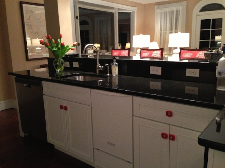 Custom designed knobs for customer's kitchen remodel
