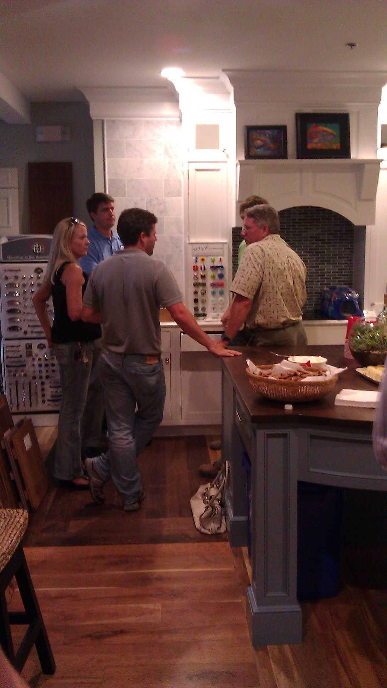 Island Interiors  open house and fundraising event.