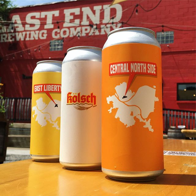 """Call them easy-drinking, call them """"dad beers"""" or even """"beer beers"""" - we call them classic examples of what made us love beer in the first place. Central North Side is a 5% ABV Czech-style Pilsner; Kolsch is, you guessed it, a traditional 5.4% ABV Kolsch, and East Liberty is a 6% ABV Cream Ale. Get some on draft or in cans; they're they perfect beer for these dog days of summer."""
