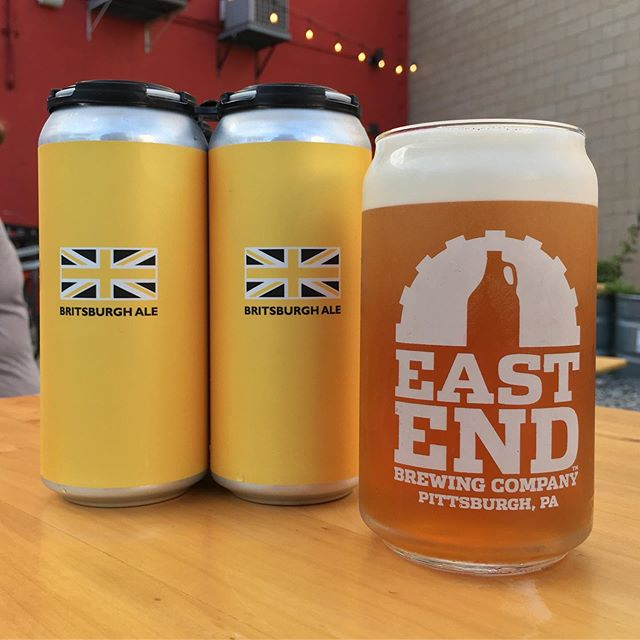 Britsburgh Ale, an English Mild Ale made with all British hops & malt, is available now! Hurry because we just tapped the Tony Knipling ceremonial cask - otherwise we have it on nitro and in 16oz cans. And Larder is serving up some Britsburgh grub as well! Cheers!