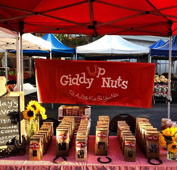 Giddy Up Nuts at Agoura Farmer's Market
