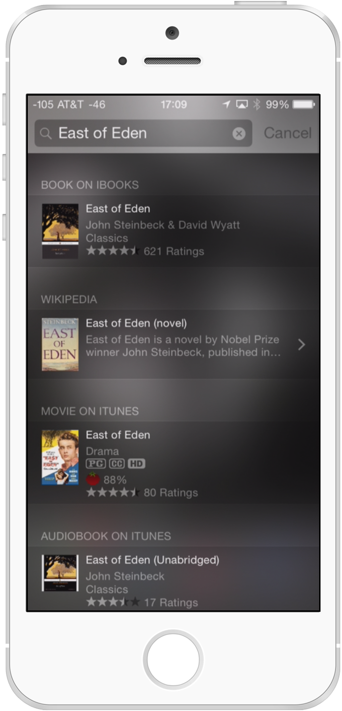 FIND BOOKS AND MOVIES ON THE ITUNES STORE