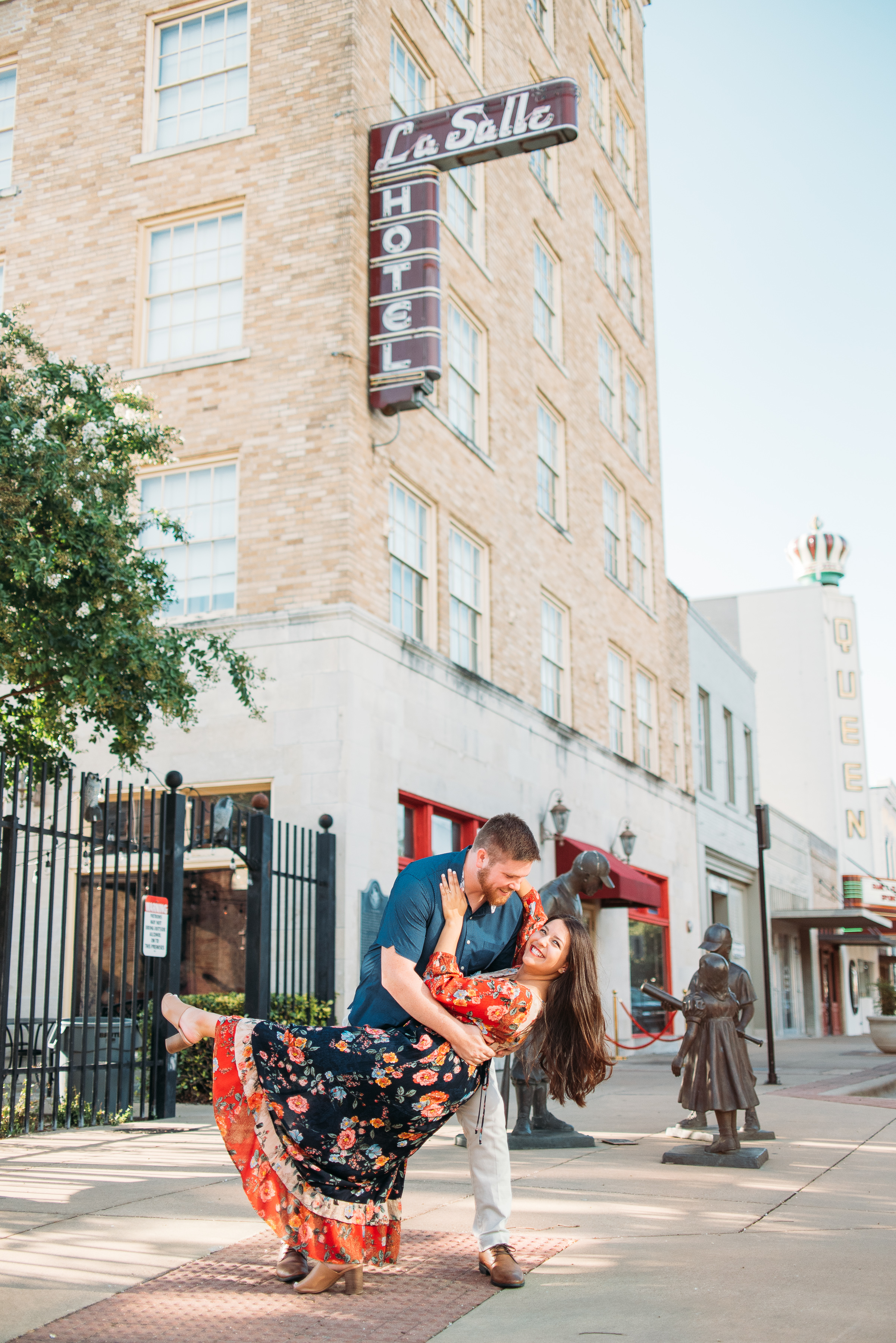 Downtown-Bryan-Engagement-George-Bush-Library-Texas-A&M-University-College-Station-Wedding-Photographer-San-Angel-Photo-Mark-Abigail-Jake-21.jpg