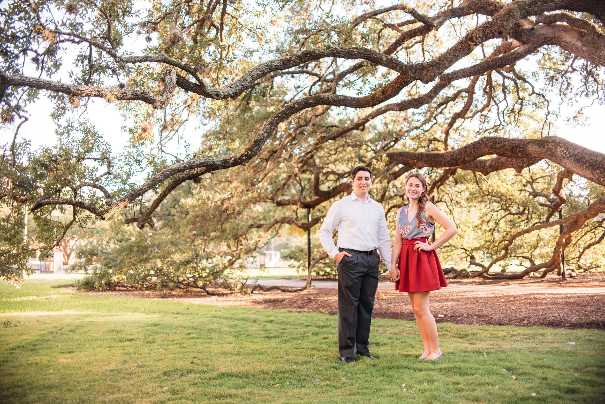 Texas-A&M-University-Engagement-Session-Century-Tree-Military-Walk-College-Station-Wedding-Photographer-San-Angel-Photo-Tony-Kate-07.jpg