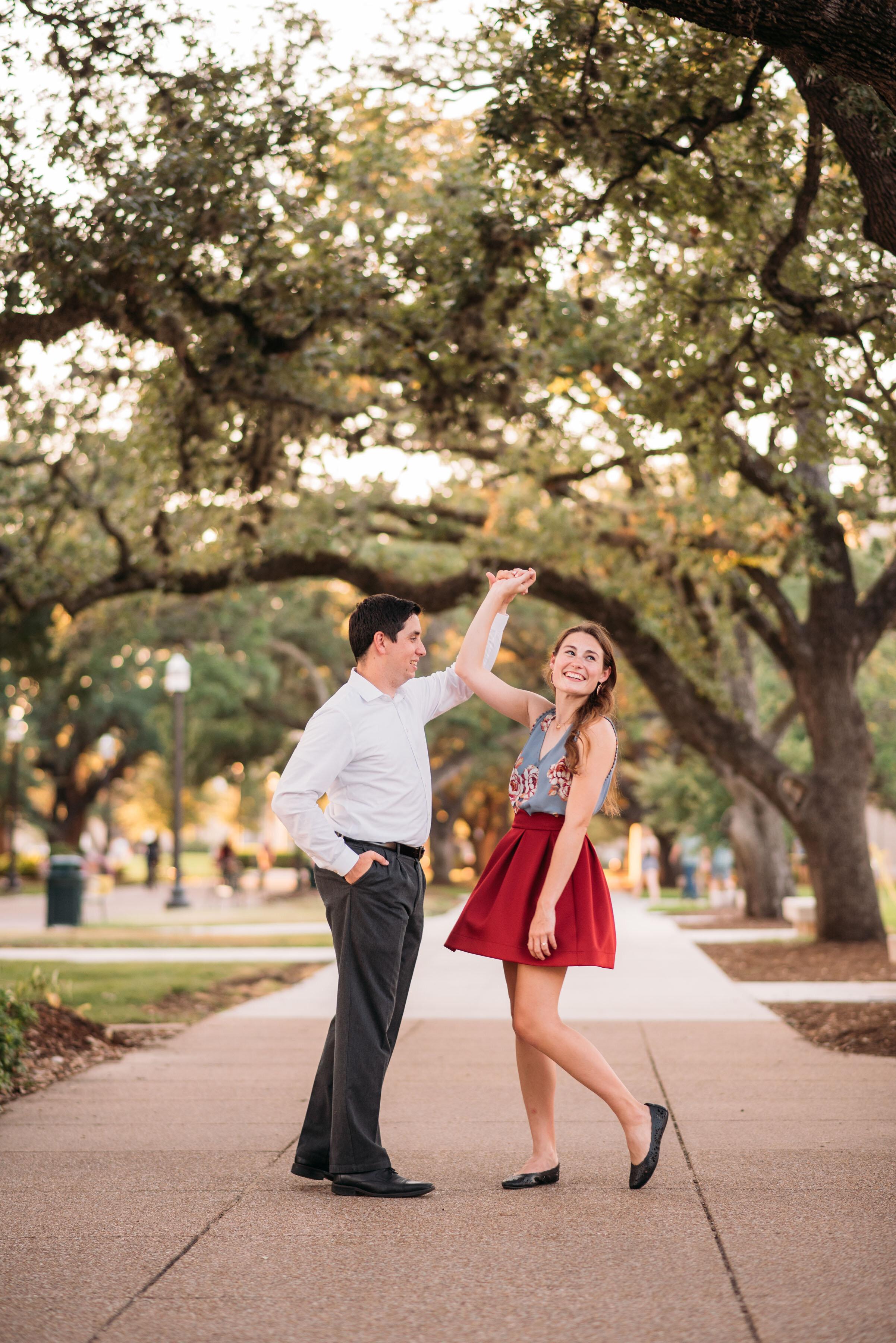 Texas-A&M-University-Engagement-Session-Century-Tree-Military-Walk-College-Station-Wedding-Photographer-San-Angel-Photo-Tony-Kate-23.jpg